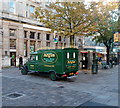 ST3187 : Vintage van in Newport City Centre by Jaggery