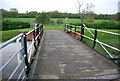 TQ0423 : Footbridge over the Wey and Arun Canal by N Chadwick