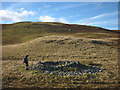 NY4916 : Prehistoric cairn, Four Stones Hill by Karl and Ali
