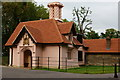 TQ2376 : The Gatehouse, Fulham Palace, London by Peter Trimming