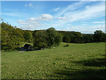 SU8216 : Outbuilding at Monkton Farm by Dave Spicer