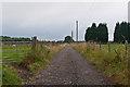 TQ4458 : Track to Park Farm  by Ian Capper