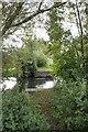 SU4667 : Former bridge base by Bill Nicholls