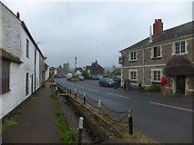 SY2591 : Church Street (B3172), Axmouth by David Smith