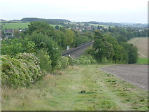 TQ5365 : Railway near Eynsford by Marathon