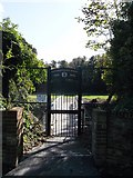 TQ7668 : R.S.M.E. Bicentenary Bridge Gate, Fort Amherst by David Anstiss