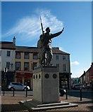J2664 : UDR Memorial, Lisburn by Eric Jones