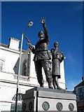 J2664 : Ulster Defence Regiment Memorial, Lisburn by Eric Jones