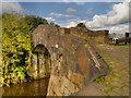 SD8810 : Rochdale Canal Bridge#65 by David Dixon