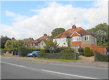 SP4441 : Houses on the Warwick Rd Banbury by Nigel Mykura