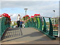 SP4540 : Footbridge over the Oxford Canal by Nigel Mykura