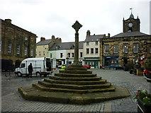 NU1813 : Market Place, Alnwick by Carroll Pierce