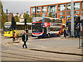 SJ8498 : Piccadilly Gardens Transport Interchange by David Dixon