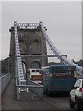SH5571 : The Menai Suspension Bridge by Arthur C Harris
