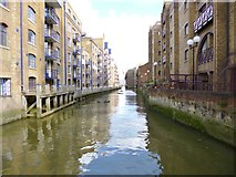 TQ3379 : Bermondsey, St. Saviour's Dock by Mike Faherty