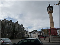 SO1408 : Part of The Circle, Tredegar town centre by Jeremy Bolwell
