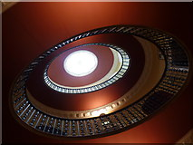 SK2957 : Willersley Castle, staircase by Peter Barr