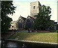 TQ5474 : Dartford, DA1 - Parish Church by David Hallam-Jones