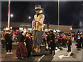 TQ8209 : Bonfire Parade, East Beach Street by Oast House Archive