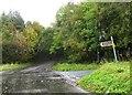 NZ1247 : Road junction by Alex McGregor