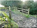 SE0124 : Gateway and stile for Hebden Royd FP93 by Humphrey Bolton