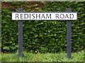 TM4084 : Redisham Road sign at Redisham Corner by Adrian Cable