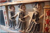 TQ5802 : Monument to Sir Nicholas Parker, Willingdon Church(3) by Julian P Guffogg