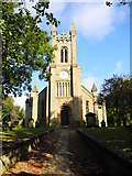 SD9201 : St Thomas Church - Oldham by John Topping