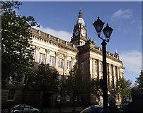 SD7109 : Bolton Town Hall by Philip Platt