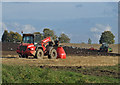 TA0611 : Autumn Cultivation near Melton Ross by David Wright