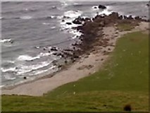 NR5916 : Sandy Cove below Innean Glen by ian lee