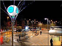 SU1585 : Swindon Station forecourt (3) by Brian Robert Marshall