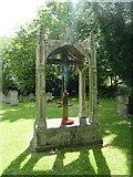 TQ2475 : War Memorial, All Saints Church, Fulham by Alexander P Kapp
