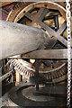 SP9952 : Stevington Windmill by Chris Allen
