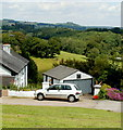 ST4894 : Monmouthshire countryside viewed from Mynydd-bach by Jaggery