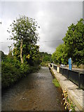 SD9100 : River Medlock - Daisy Nook - Oldham by John Topping