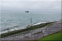 SZ6497 : Seawall, Southsea by N Chadwick