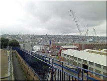 SW8132 : Falmouth Docks and Inner Harbour by Stuart Logan