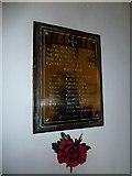 ST6902 : Alton St Pancras: war memorial by Basher Eyre