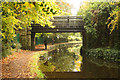 SK6981 : Cemetery bridge by Richard Croft