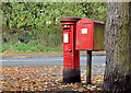 J3276 : Pillar box and drop box, Belfast by Albert Bridge