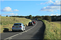 SU0248 : 2012 : A360 about to enter Tilshead by Maurice Pullin