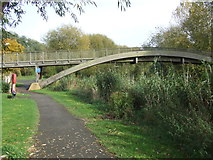 TL0348 : Path by the river, Bedford by Malc McDonald