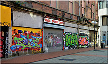 J3374 : Lower Garfield Street, Belfast (2012-2) by Albert Bridge