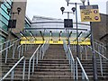 SJ8399 : Steps to Manchester Arena by Paul Gillett