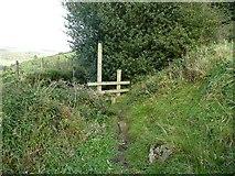 SE0125 : Stile on Hebden Royd Footpath 62 by Humphrey Bolton