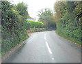 SW6133 : B3302 east of Binnerton Manor by Stuart Logan
