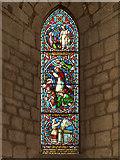 NY5563 : Lanercost Priory, Memorial Window to John Addison by David Dixon