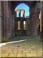 NY5563 : Lanercost Priory Crossing Tower by David Dixon