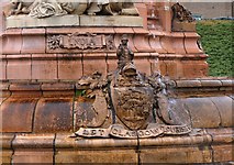 NS6064 : Arms of Glasgow on the Doulton Fountain by Jim Barton